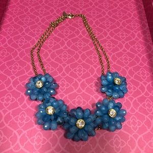 New York & company statement flower necklace